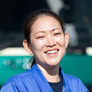 西谷内絵里子さん写真